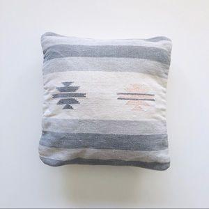 Geometric Navajo Pattern Throw Pillow